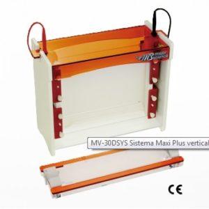 Sistema Maxi Plus Vertical de Electroforesis MV-30DSYS