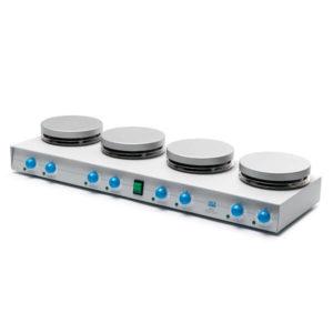 Agitador magnético con placa calefactora AM4 & AM4X