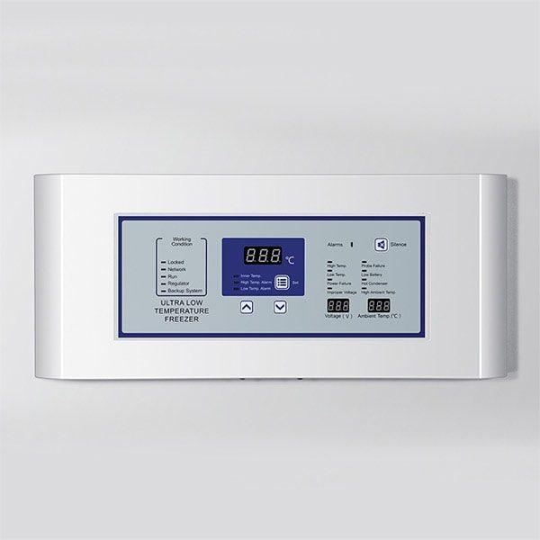 panel de control del ultracongelador nu-99728