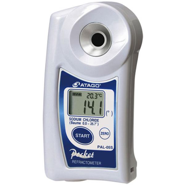 Refractómetro digital de Bolsillo para Cloruro de Sodio PAL-05S