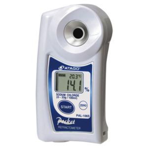 Refractómetro digital de Bolsillo para Agua Salada PAL-106S