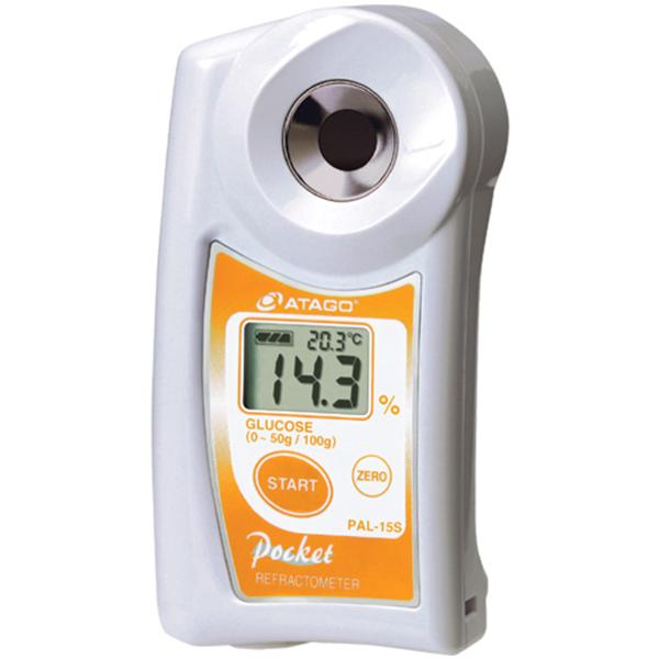 Refractómetro Digital para Medir la Concentración de Glucosa