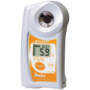 Refractómetro para Ácido Cítrico PAL-29S