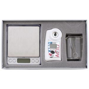 Refractómetro medir Brix-Acidez PAL-BX|ACID4