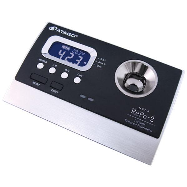 Refractómetro y Polarímetro RePo-2