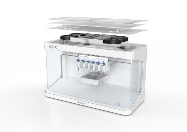Bioimpresora 3D BIO X6 marca CELLINK