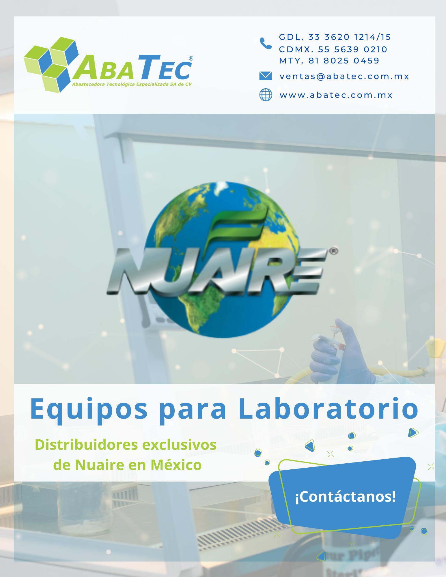 Catálogo de Equipo de Laboratorio Nuaire