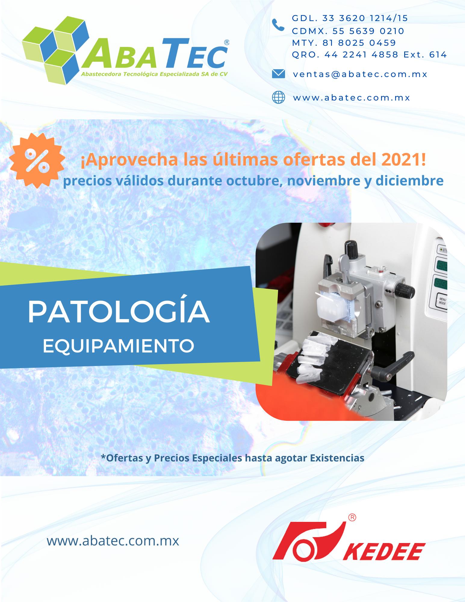 Catálogo de Patología - Ofertas