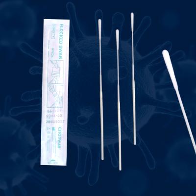 Hisopo nasofaríngeo para prueba covid nasal