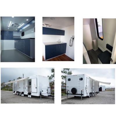 Mobiliario de laboratorio móvil