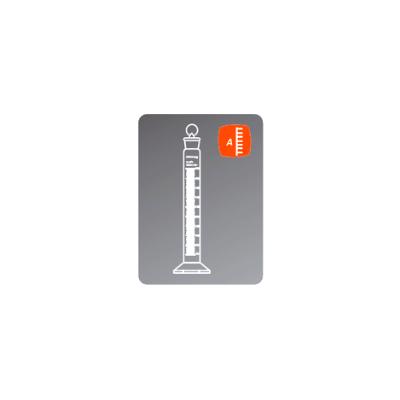 Probeta de cristal Clase A para medición de 250 ml